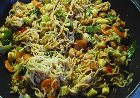 Søndags wokmad