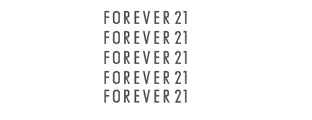 Forever21 kommer til Europa!