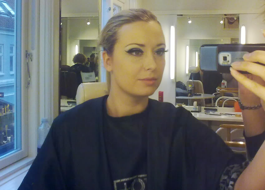 Make-up modella