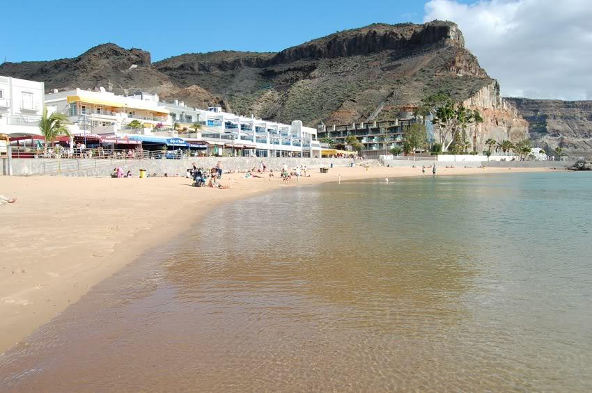 Puerto de Morgán strand