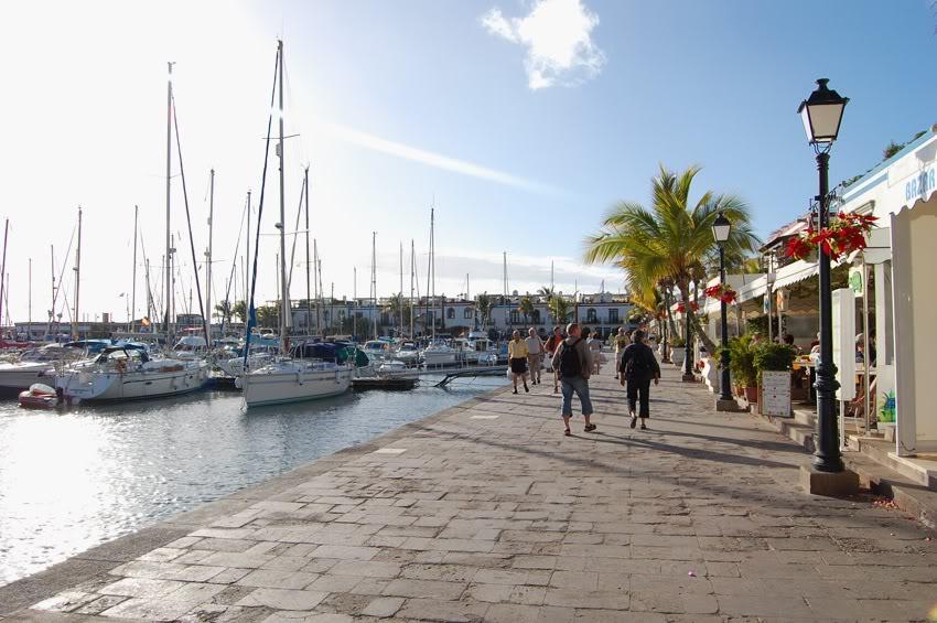 Puerto de Morgán harbour