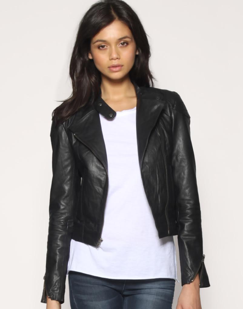 Gave: Læder jakke