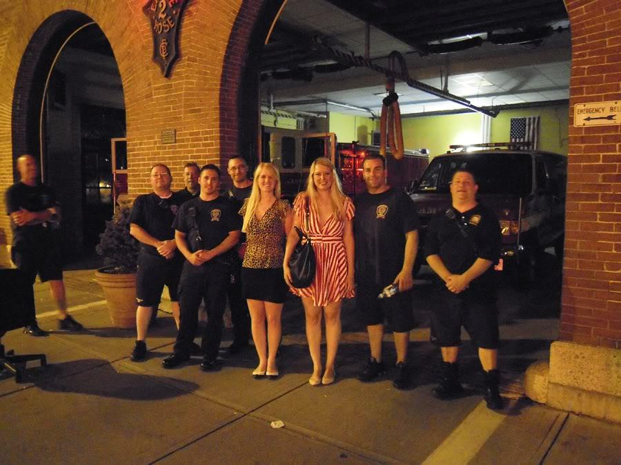 Mig og amerikanske brandmænd
