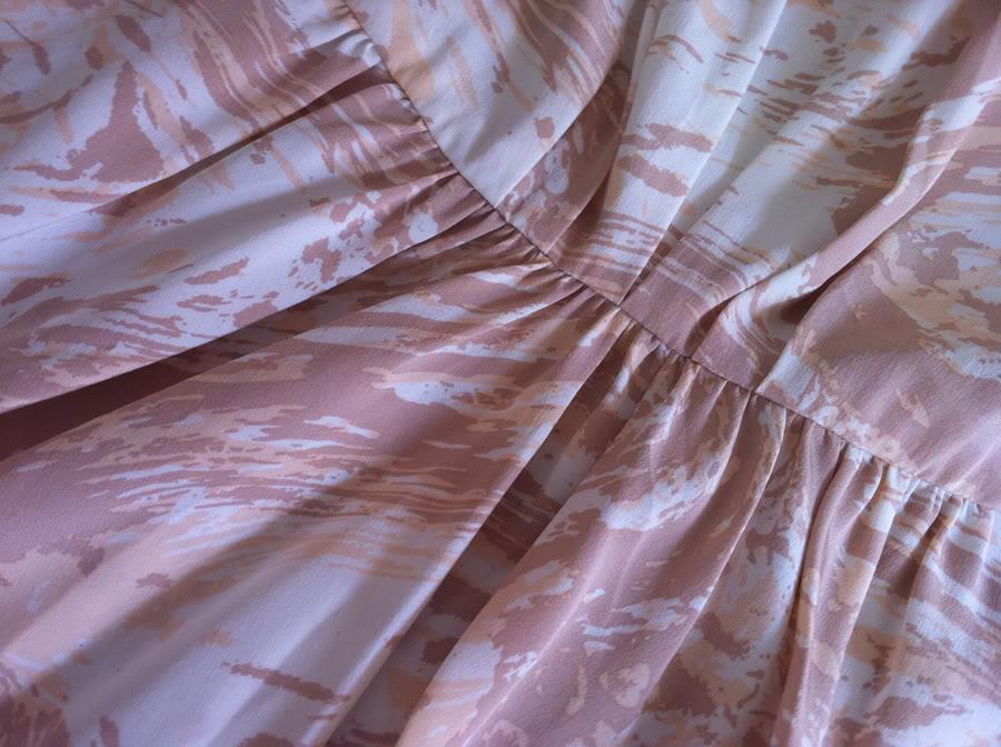 Sneak peek på kjolen