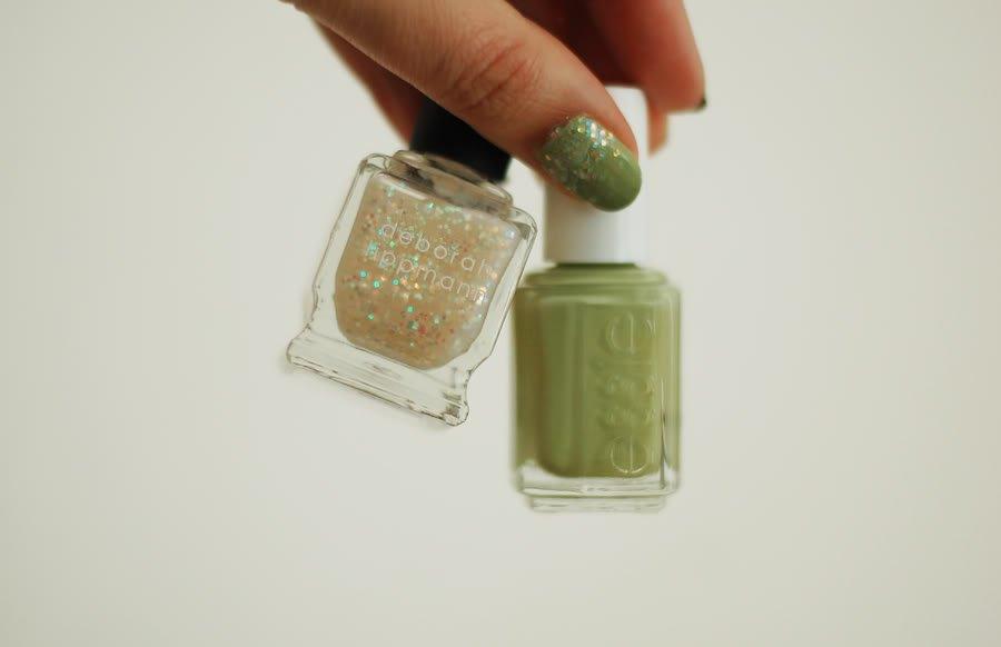 Green & glitter