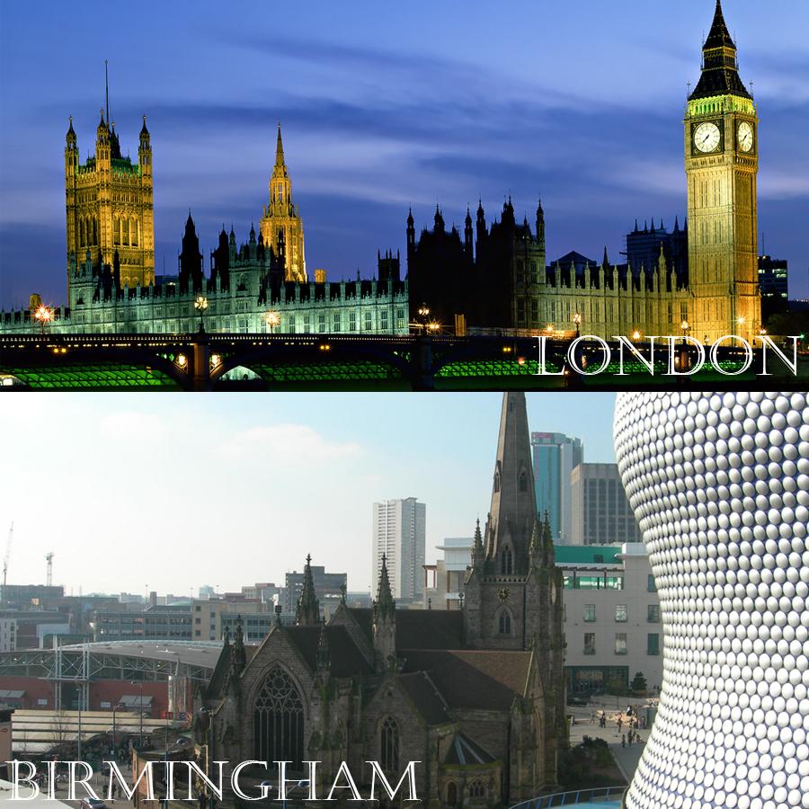 Next stop: London & Birmingham