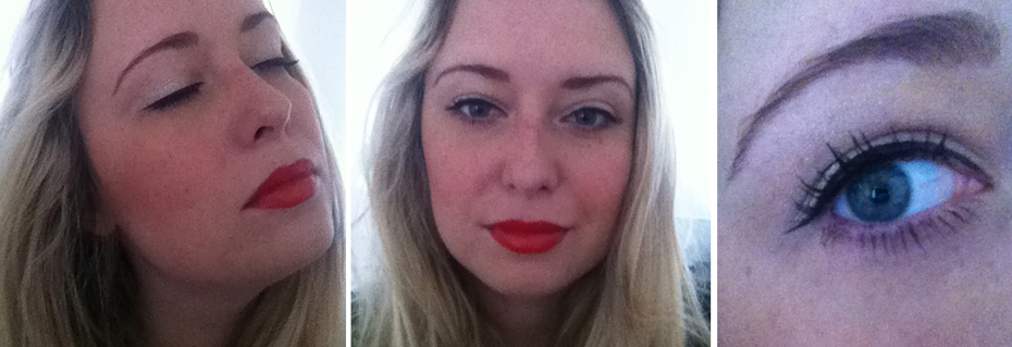 Tester look: Flirty glamour