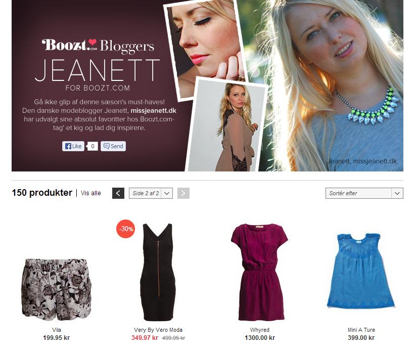 Miss Jeanett for Boozt.com
