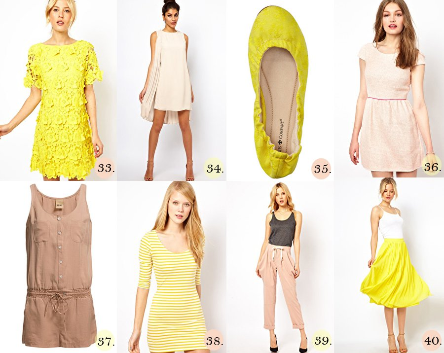 Nude & Yellow