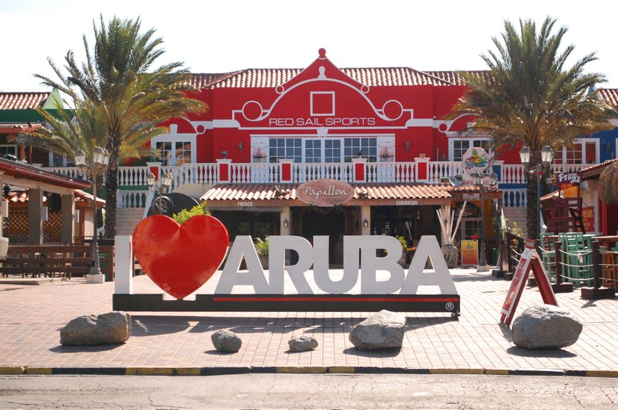 Aruba i billeder