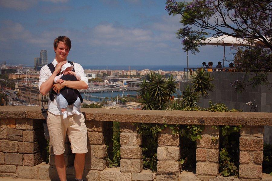 rejse til Barcelona med baby
