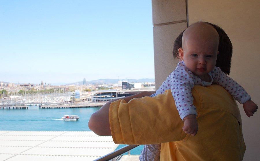 At rejse med baby: 3 mdr & storbyferie