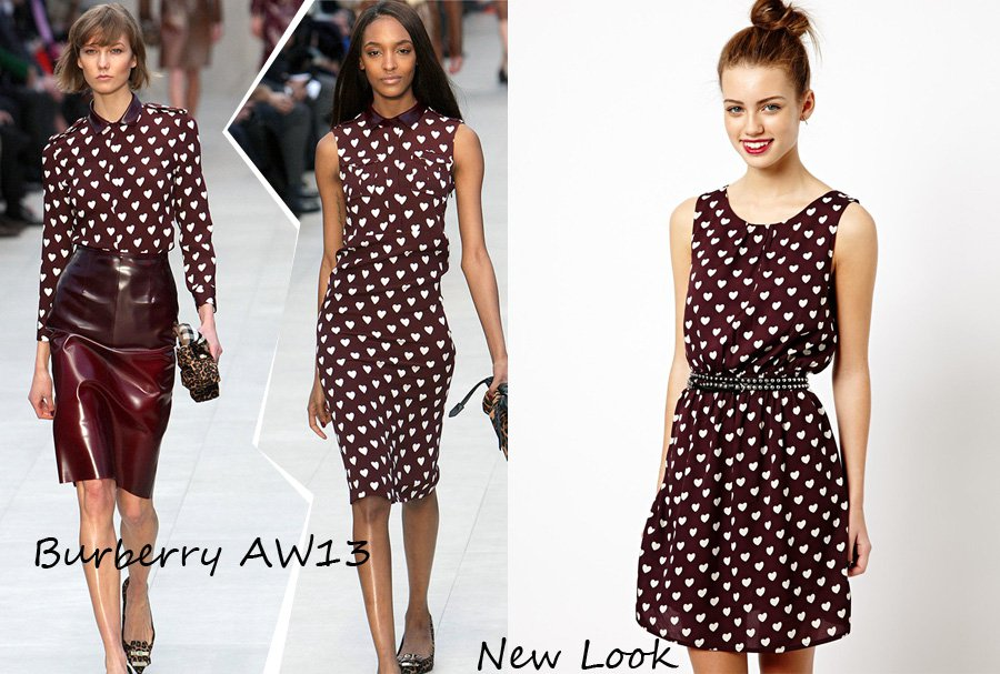 Burberry vs. New Look