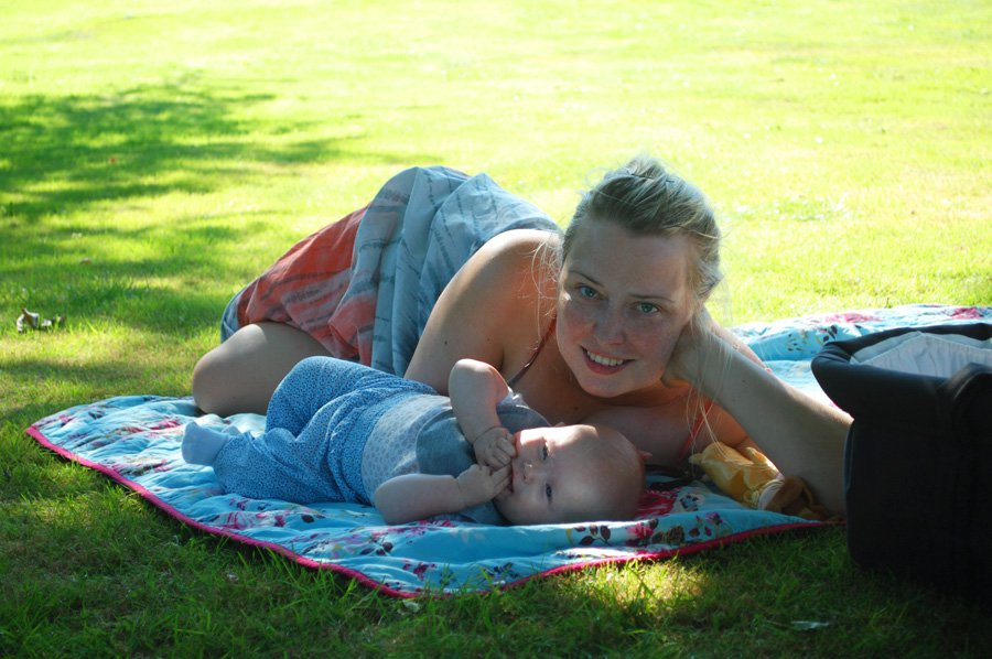 At rejse med baby: 4 mdr & sommerferie i Danmark