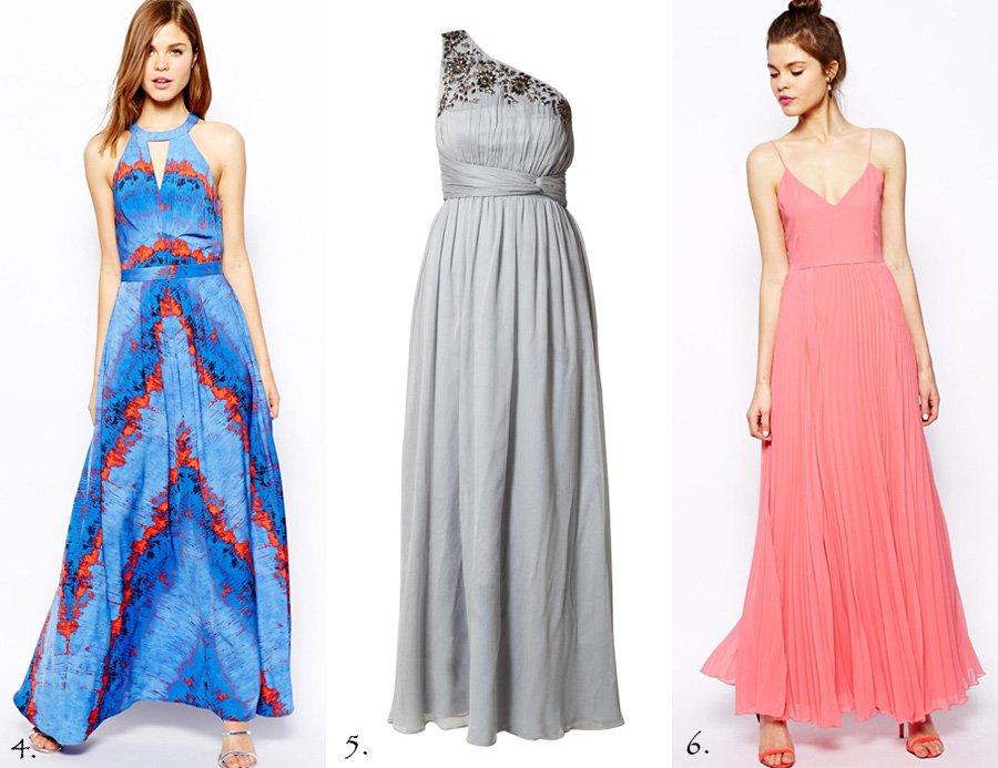 Kjoler til bryllupsgæster (de lange)