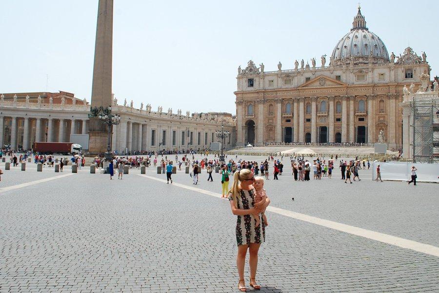Guide til Rom på 24 timer (med et barn)