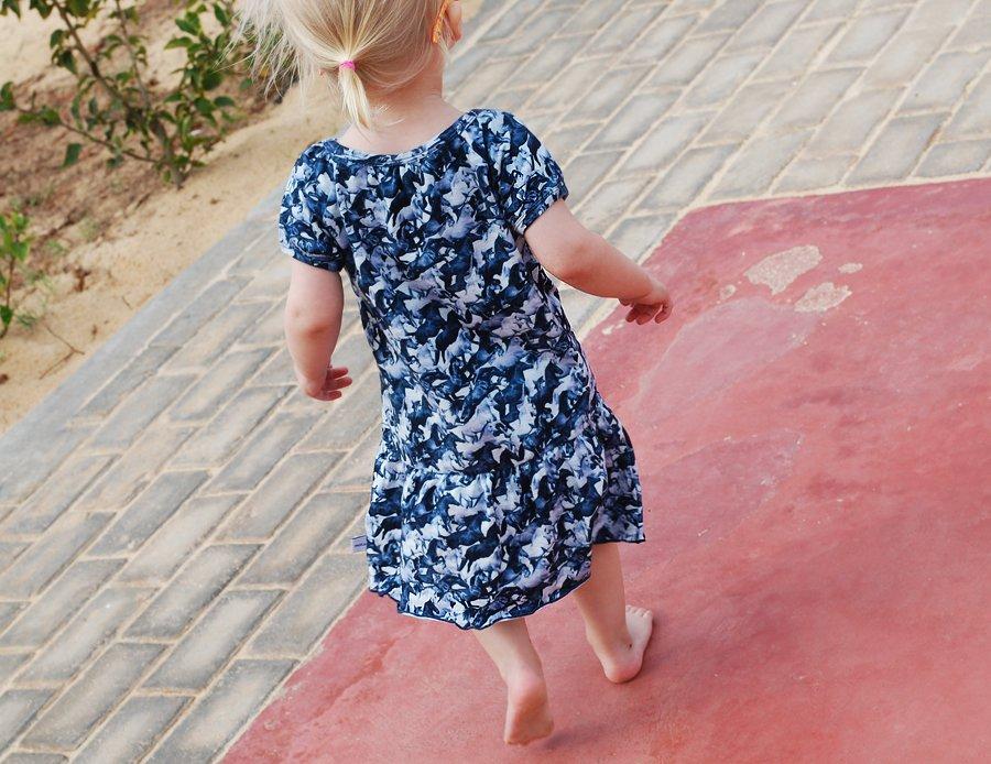 Bella i ny kjole fra Molo