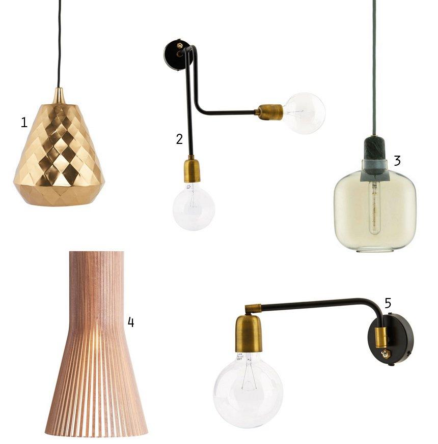 Bolig: Fede lamper