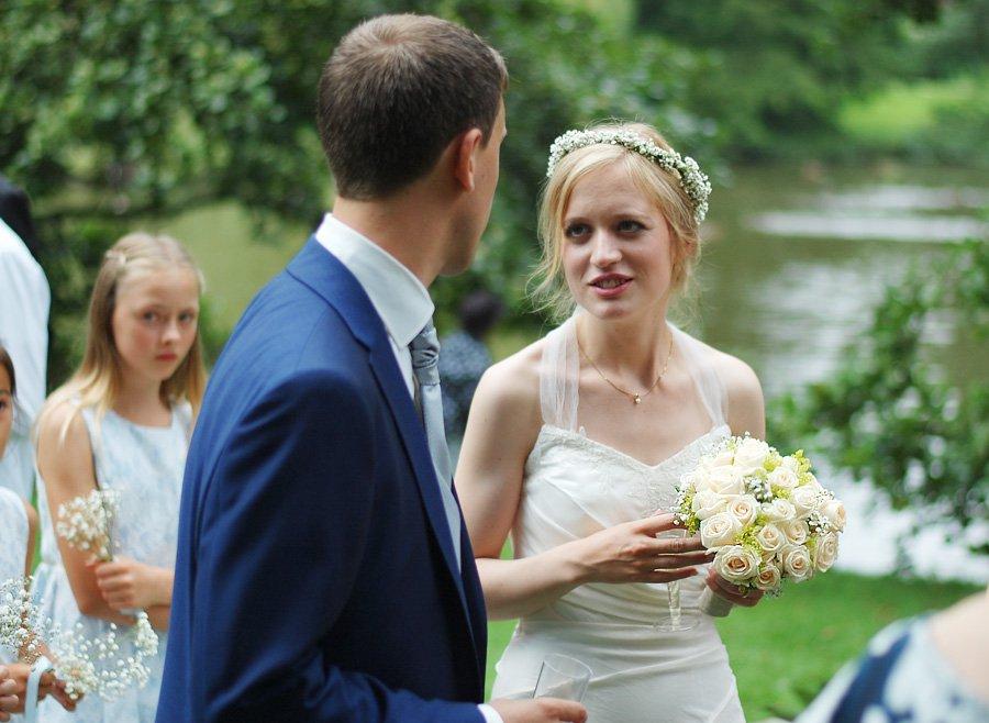 Billeder fra brylluppet i lørdags