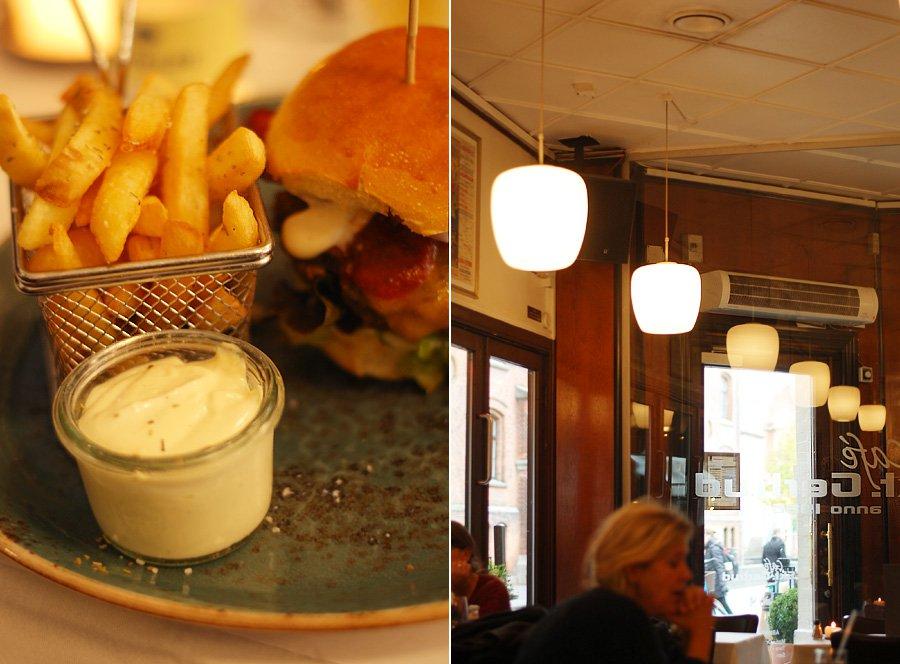 Mit fine Odense #1 - burger på Café Skt. Gertrud