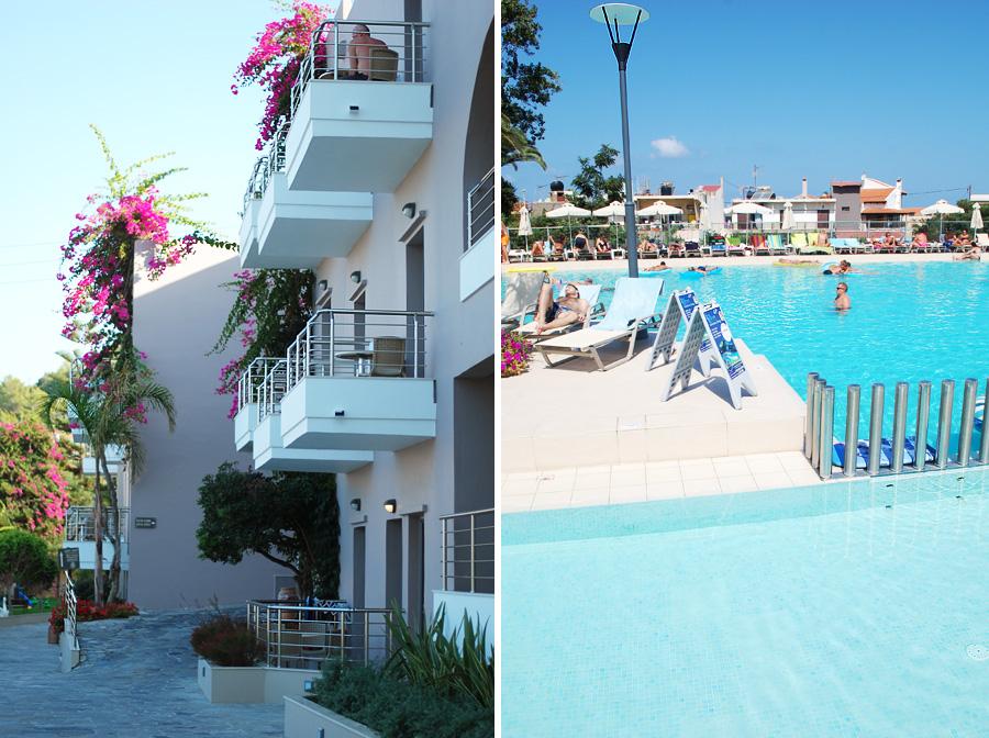 To hoteller på Kreta: Geraniotis hotel og Porto Platanias Village