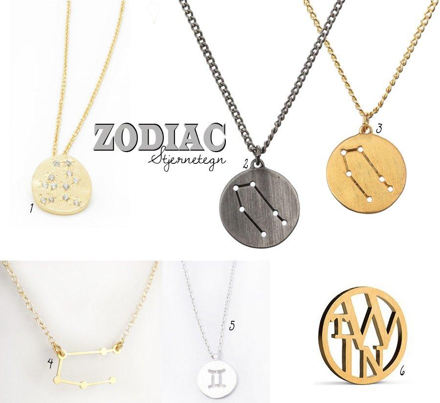 Trend: Zodiac smykker (og lidt om at have forskellige personligheder)