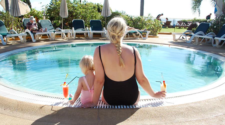 Favoritbillede fra ferien og om at være mor til en pige