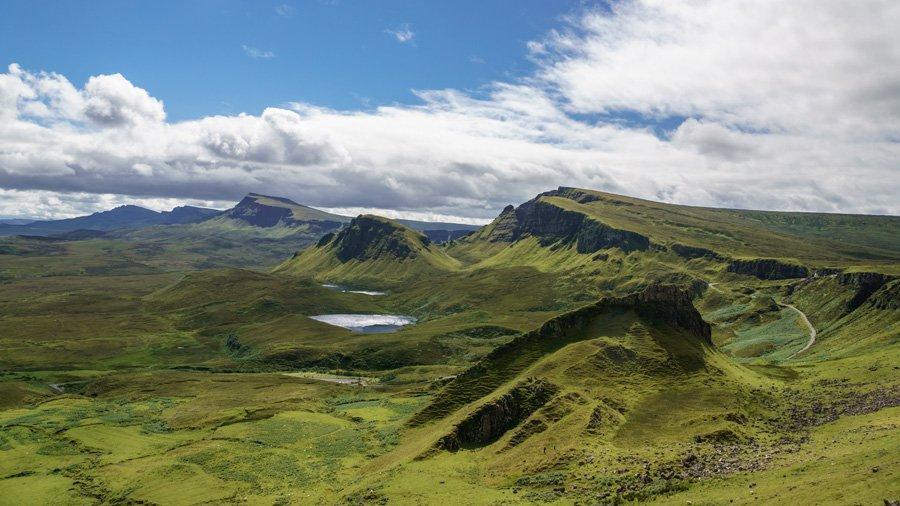 Jeg skal til Skotland!