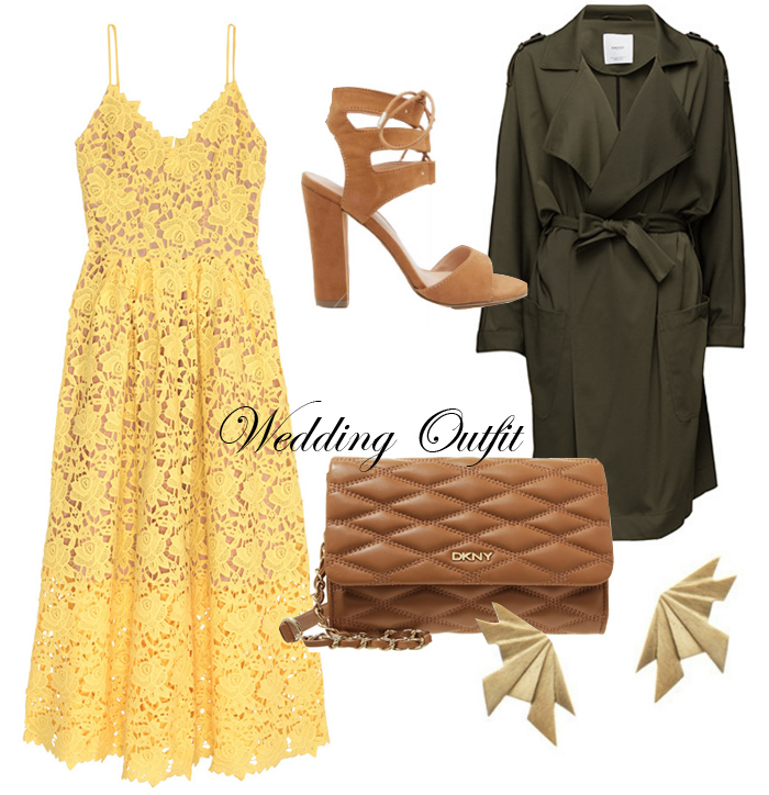 photo wedding-outfit-call-it-shoes-dkny-gansevoort-brown-bag-taske-brun-mango-green-trenchcoat-hm-trend-yellow-lace-dress-gul-blon_zps8ygv8kjm.jpg