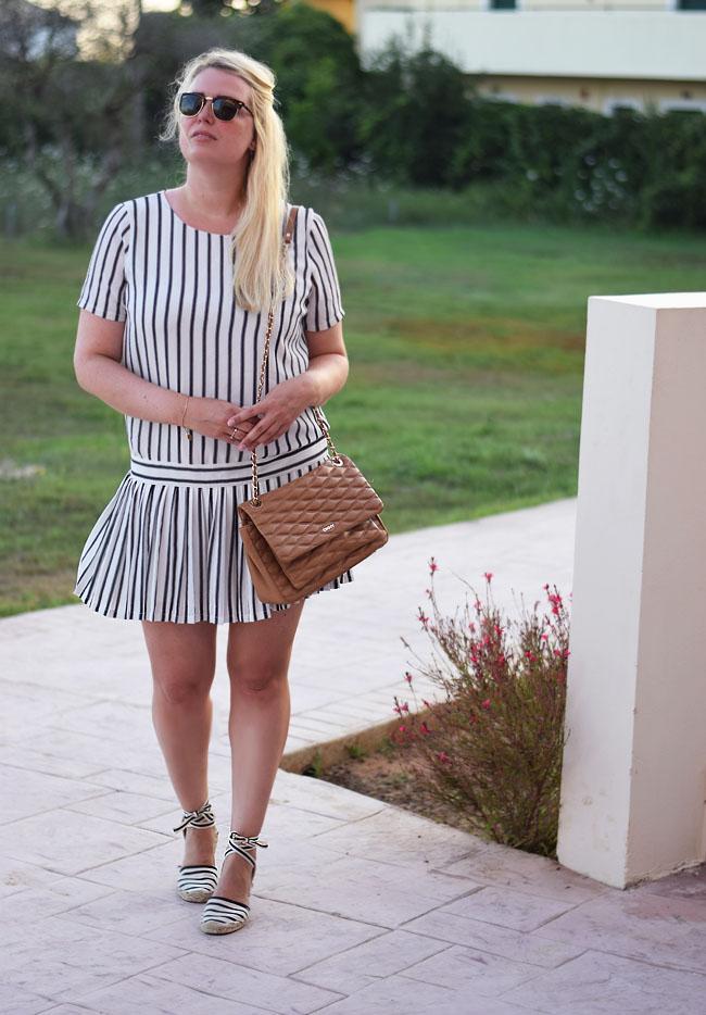 photo outfit-selected-femme-kjole-stribet-tenniskjolen-soludos-sandaler-sandals-dkny-gansevoort-bag-taske-clubmaster-morblogger-ko_zps6zzfjcsm.jpg
