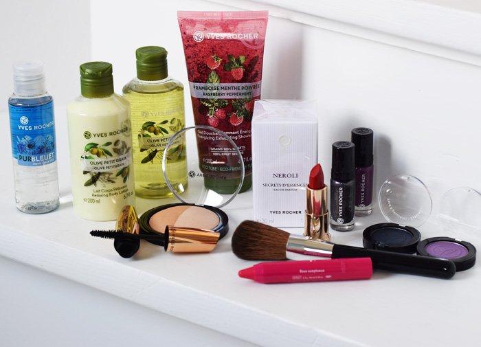 Vind makeup fra Yves Rocher og 3500 kroner til spaophold