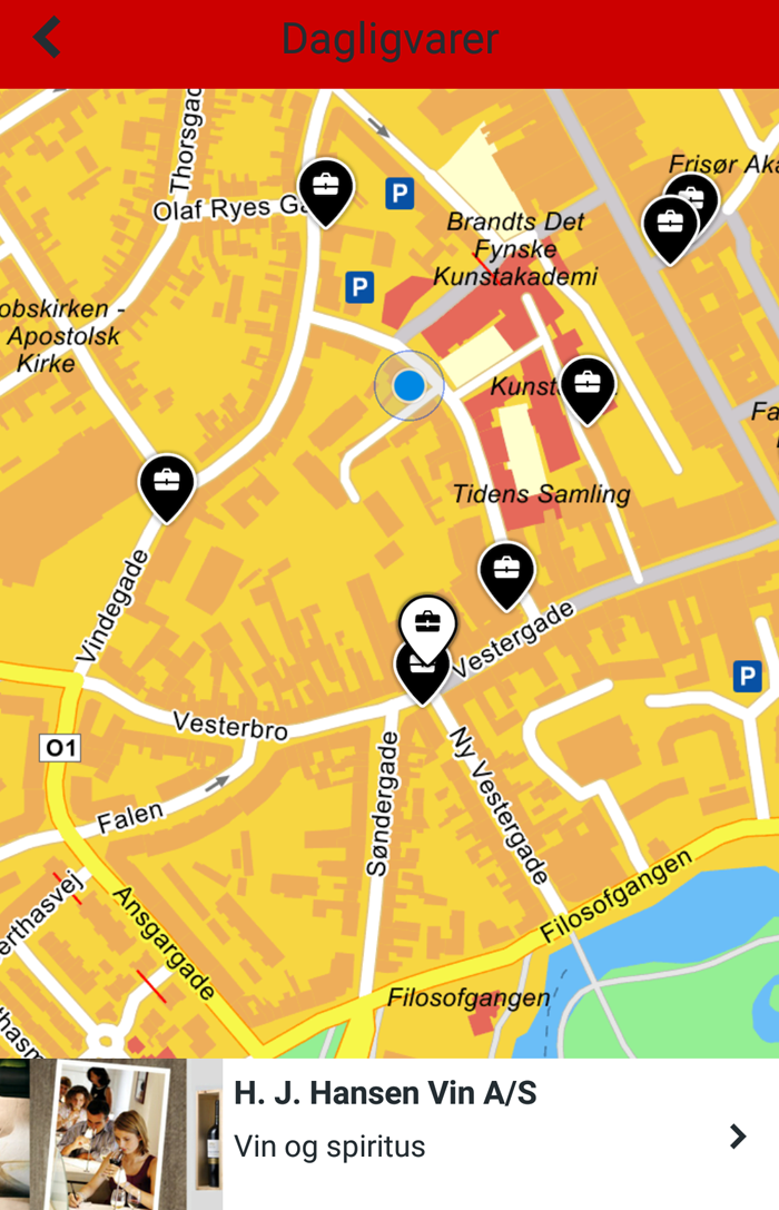 krak-h-j-hansen-vin-klingenberg-ost-dagligvarer-app-oplev-lokalt-missjeanet-blogger-gps