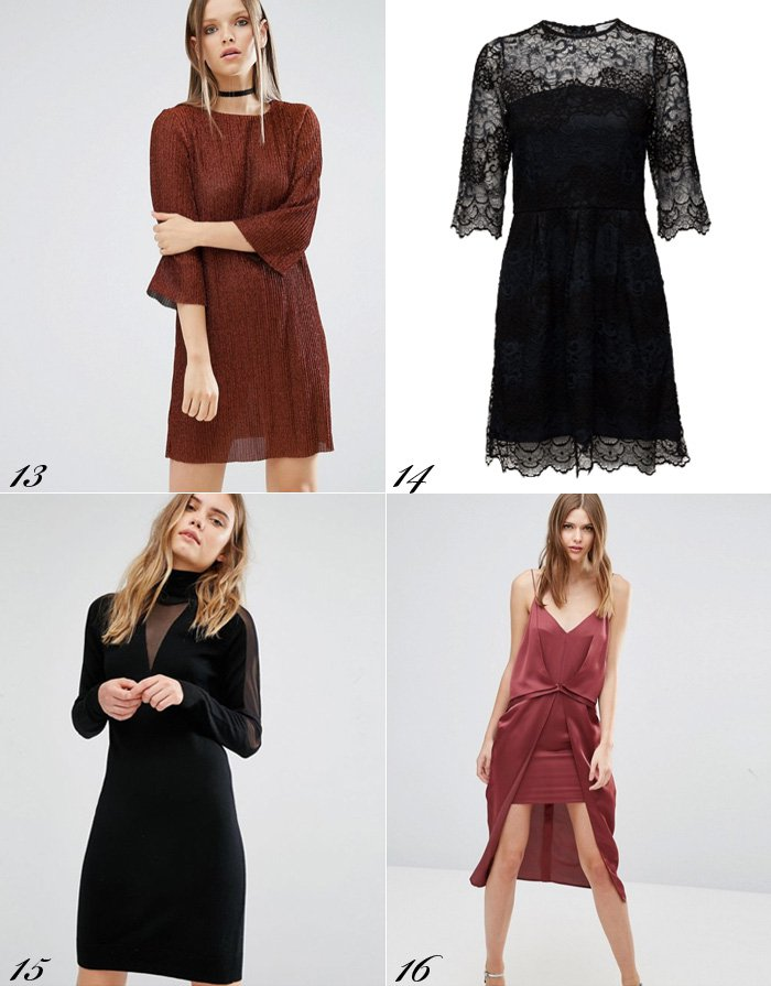 julefrokost-kjoler-til-julefest-julekjoler-asos-gestuz-velvet-velour-bronze-plisseret-dress-for-christmas-party
