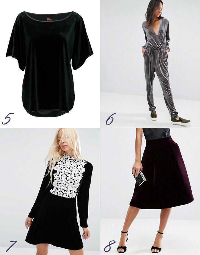 velour-velvet-trend-asos-jumpsuit-grey-black-sort-kjole-til-julefrokost-lille-purle-skirt-nederdel-line-of-oslo