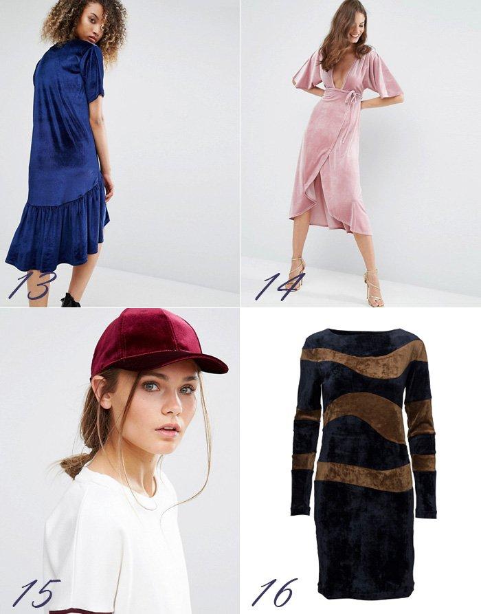 velour-velvet-milk-it-drop-waist-dress-kjole-asos-pink-2nd-day-blue-cap-kasket-bordeaux-mega-trend