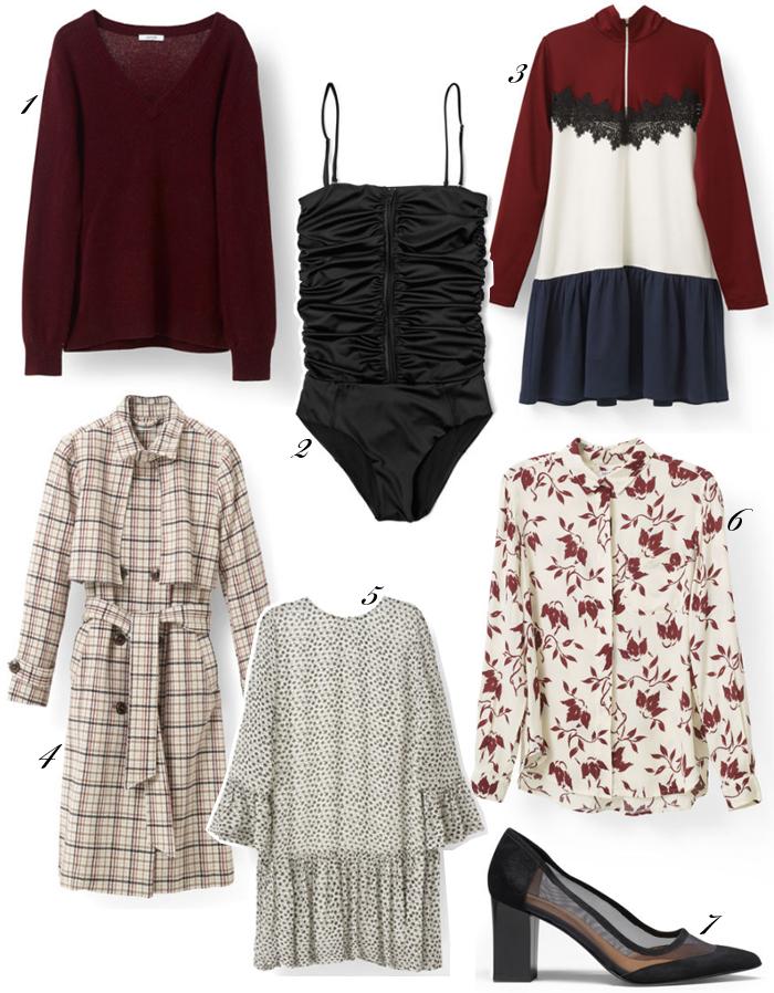 ganni-udsalg-trenchcoat-strik-bordeaux-mohair-badedragt-sko-vinter-drop-waist-dress-kjole-skjorte-missjeanett-blogger-rabatkode