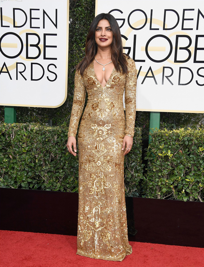 priyanka-chopra-2017-golden-globes-gold-dress-quantico-ralph-lauren