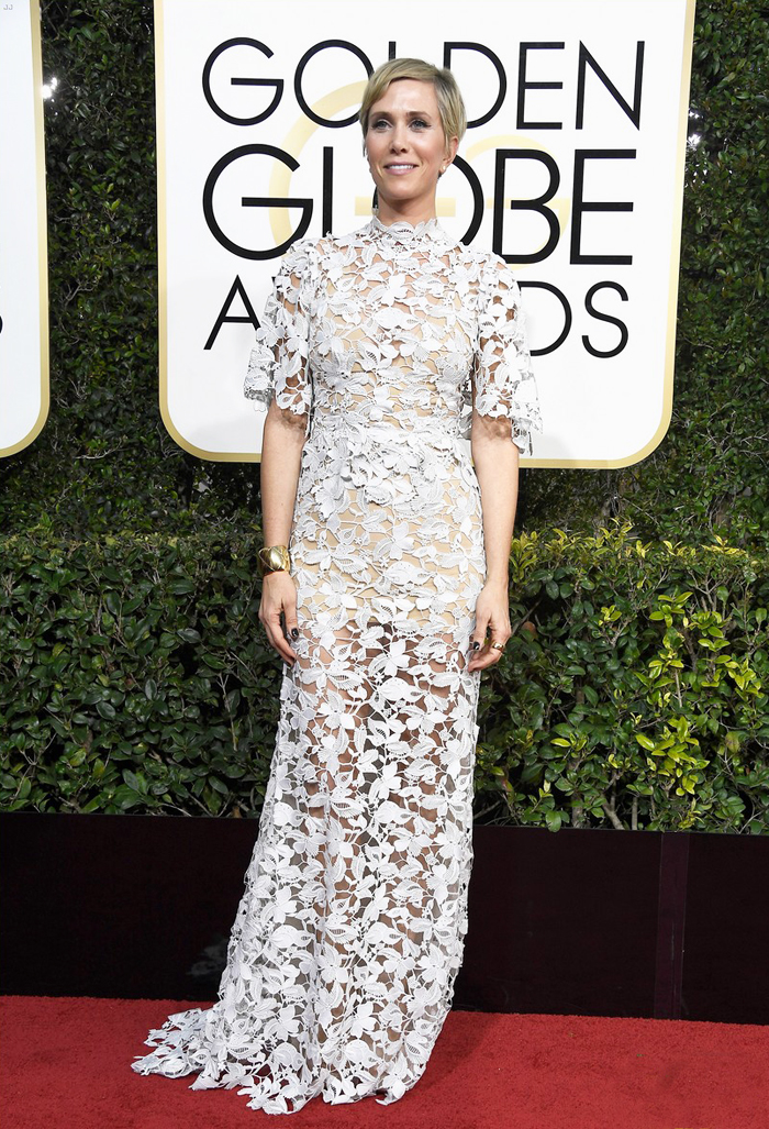kristen-wiig-golden-globes-2017-reem-acra-dress-kjole