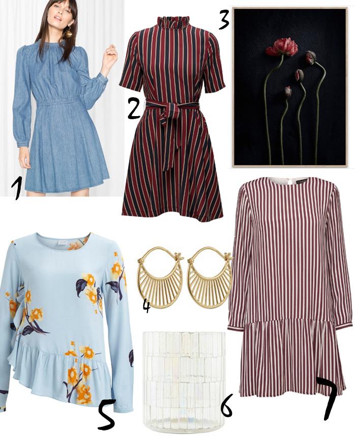 januar-shopping-cravings-vila-people-top-other-stories-denim-dress-ganni-stribet-kjole-house-doctor-fyrfadslys-selected-femme