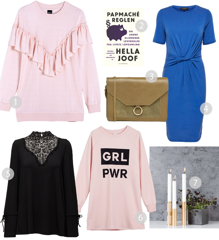 februar-shopping-cravings-missjeanett-gina-tricot-cindy-sweater-ruffle-vila-blonde-bluse-grl-pwr-girl-power-by-holmer-lysestager