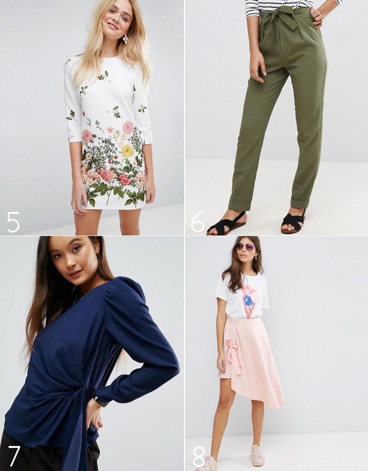 asos-order-odre-paa-snaphchat-missjeanett-floral-botanical-print-dress-tall-pants-origami-blouse-skirt