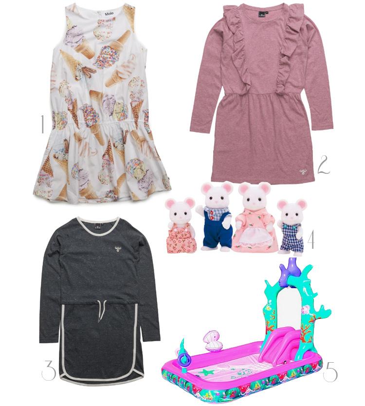 bella-befaler-molo-iskjole-hummel-kjole-sporty-badebassin-disney-pink-sylvanian-families-family-mus