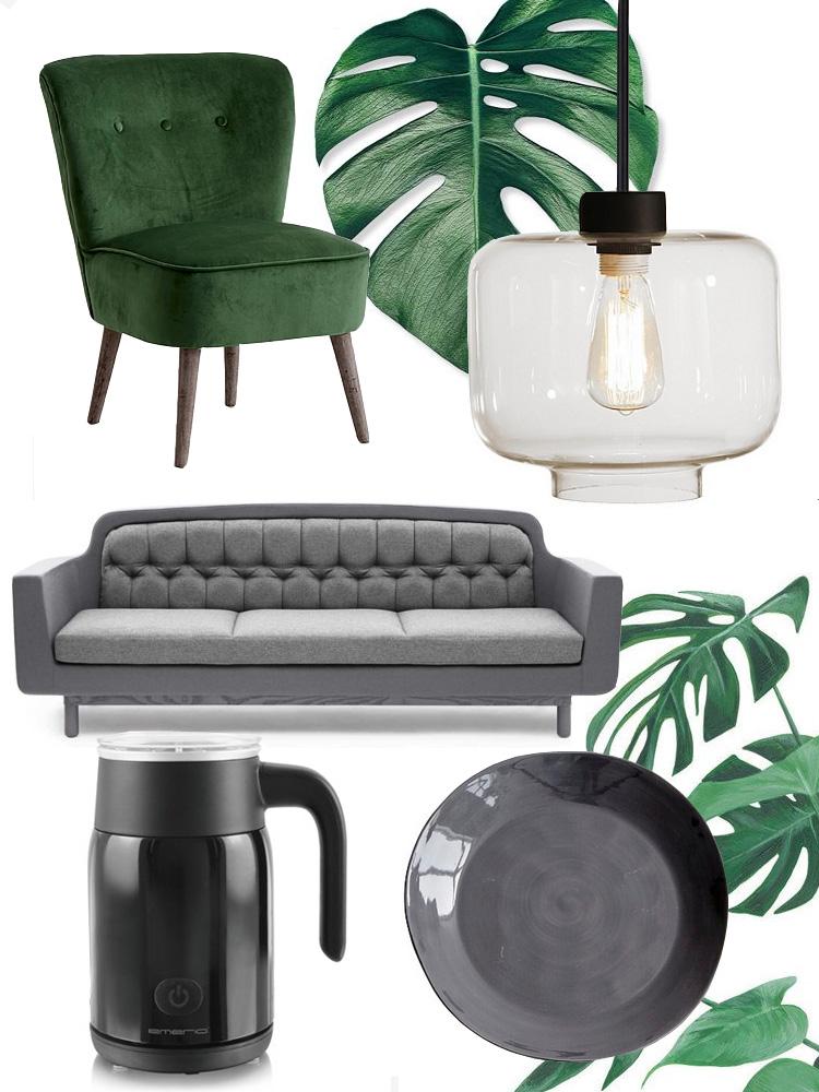 bolig-oensker-normann-copenhagen-maelkeskummer-ellos-groen-stol-lampe-pendel-monstea-planter-day-home-missjeanett