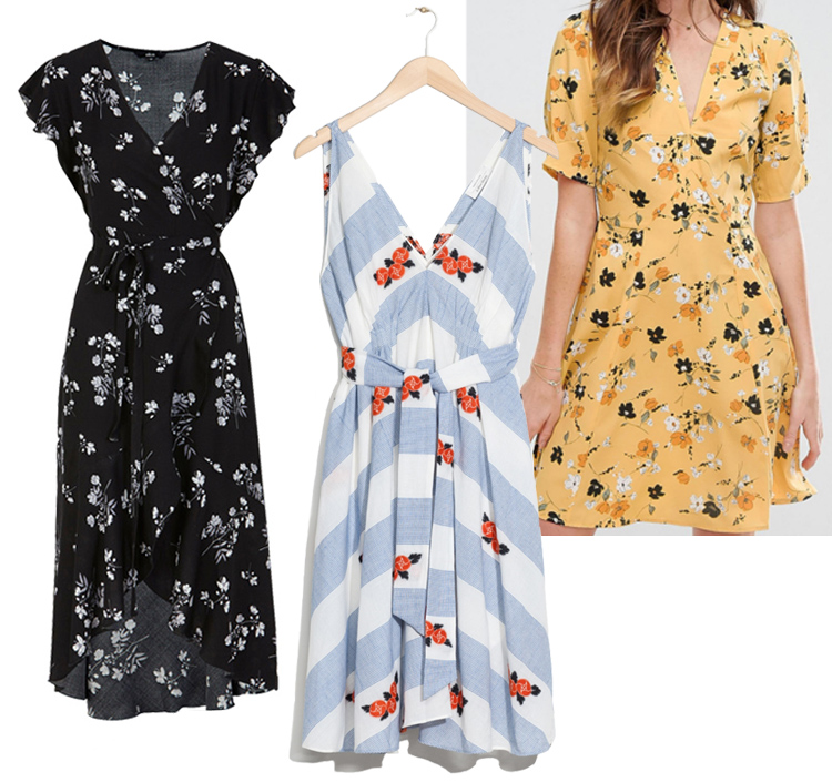 ellos-floral-kjole-and-other-stories-asos-tea-floral-flower-ditsy-print-yellow-gul-sommerkjole-missjeanett-wrap-slaa-om
