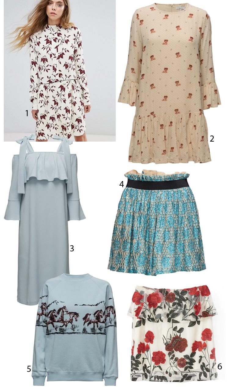 ganni-sale-udsalg-sommer-2017-kjoler-nederdel-dresses-asos-boozt-horse-print-sweatshirt-heste