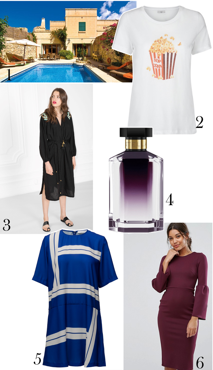 juli-shopping-cravings-other-stories-dress-kjole-eliza-was-here-hus-paa-malta-minimum-popcorn-t-shirt-stella-mccartney-parfume-asos-kjole-til-valgaften