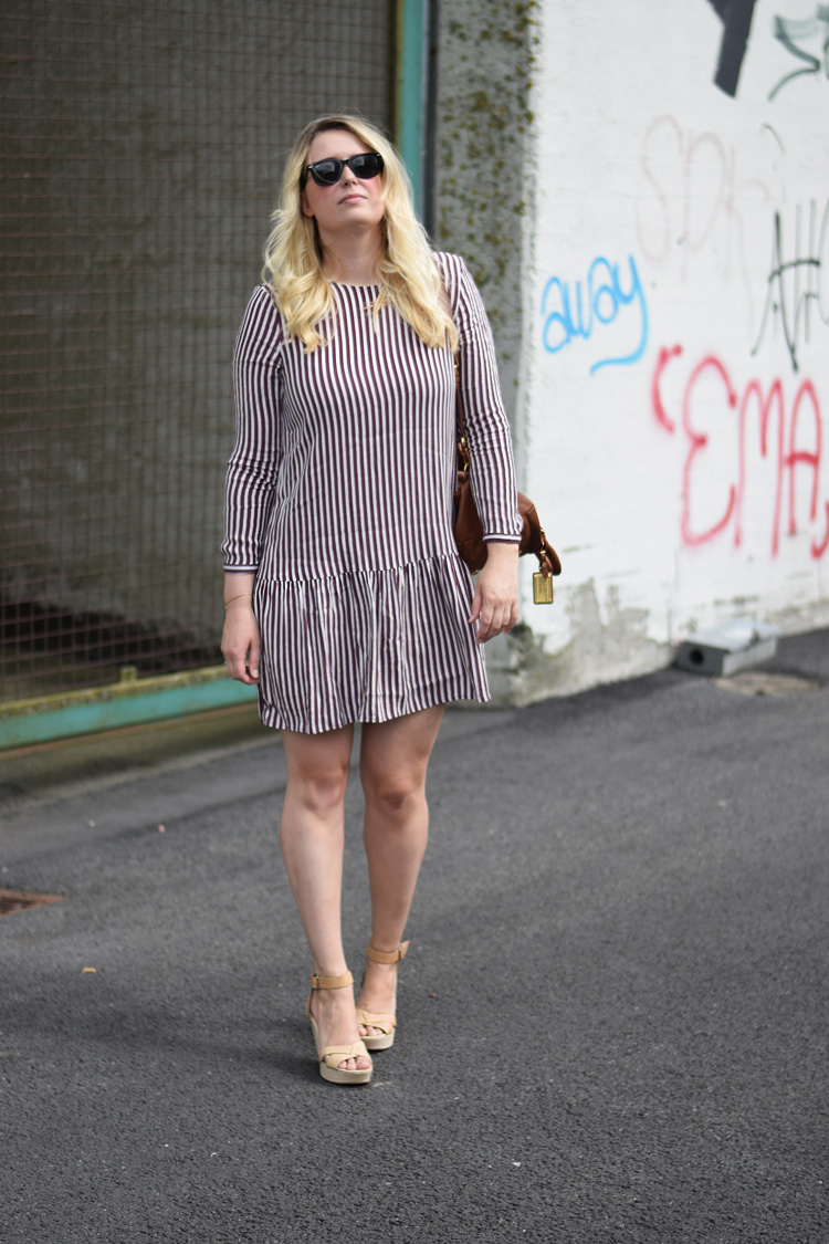outfit-selected-femme-stribet-kjole-missjeanett-asos-wedges-marc-by-marc-jacobs-hobo-bag-odense-havn