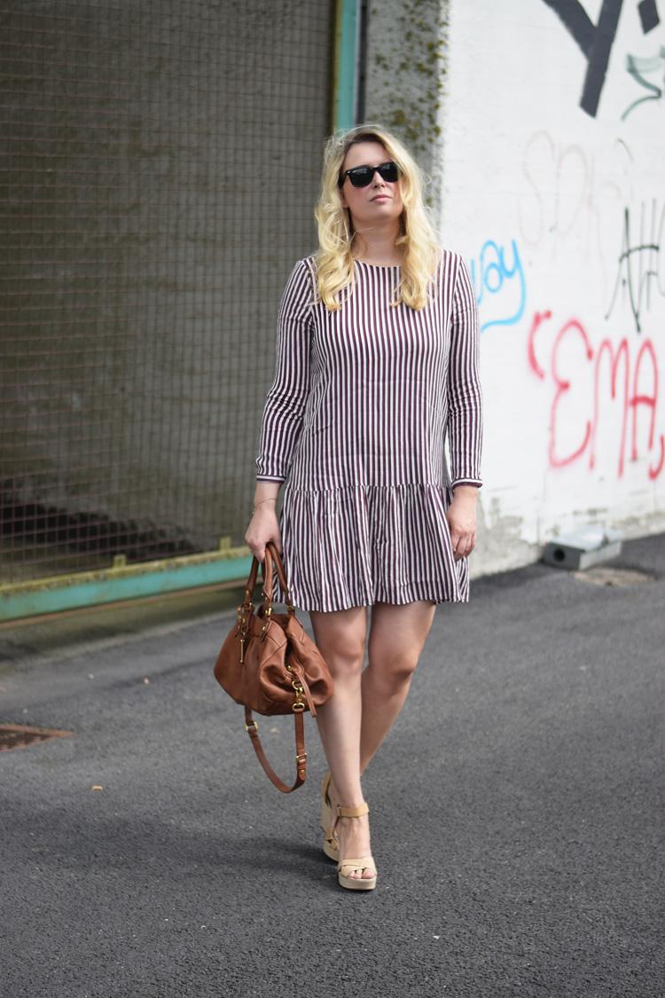 outfit-selected-femme-stribet-kjole-missjeanett-odense-havn-asos-wedges-the-every-girl