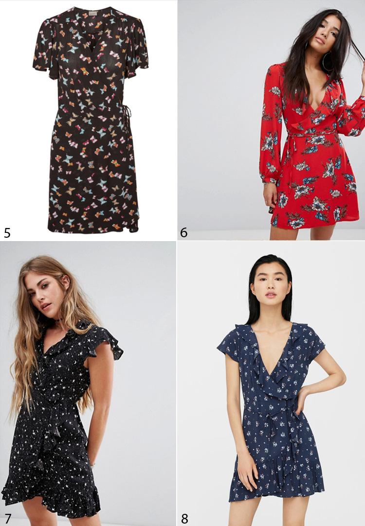 slaa-om-kjoler-wrap-dresses-mango-asos-frill-hem-missjeanett-inspiration