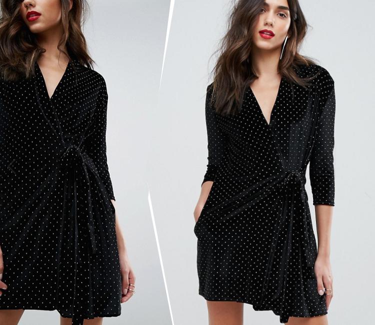 outrageous-velvet-studded-dress-velour-kjole-med-knitter-slaa-om-wrap-missjeanett-christmas-julefrokost-til
